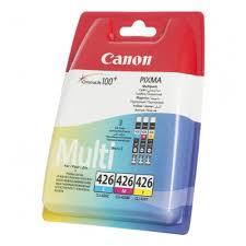 <b>Набор картриджей Canon</b> CLI-426CMY Multipack голубой ...