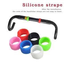 ASHAI <b>1Pair Cycling Bike</b> Silicone Plug <b>Bicycle</b> Anti-slip Silicone ...