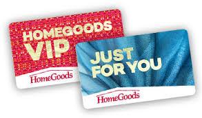 Gift Cards - HomeGoods