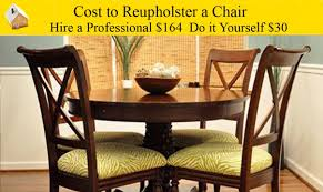 Dining Room Chair Reupholstery Cost To Reupholster A Chair Youtube