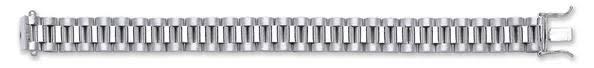 Silver Rolex-<b>Style</b> Link Kids Bracelet TGC-SBR0326 - Gold Centre ...