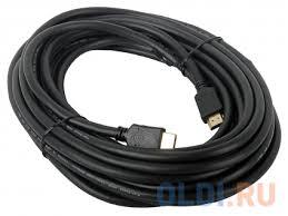 <b>Кабель</b> HDMI <b>Gembird</b>/<b>Cablexpert</b>, 10м, v2.0, 19M/19M, черный ...