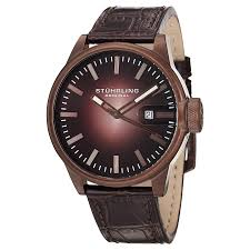 Casual мужские <b>часы</b> Concorso Metron <b>468.3365K59 Stuhrling</b> ...