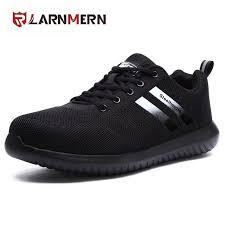 LARNMERN <b>Summer Safety</b> Shoes Lightweight Breathable <b>Sneaker</b> ...