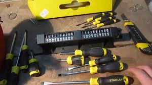 <b>Набор отверток Stanley</b> 57 предметов (STHT0-62143) - YouTube