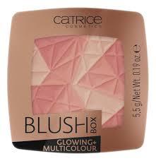 Купить <b>румяна для лица Blush</b> Box Glowing + Multicolour 5,5г ...