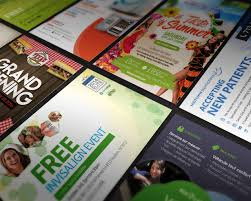 poster flyer design services on envato studio one sided custom professional postcard flyer design