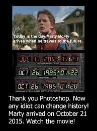 Back to the Future Meme Corrected... SomethingGeekyThisWayComes ... via Relatably.com