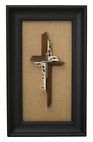 Framed - Solid Black Walnut with Antique Gold | Unity ... - Unity Cross