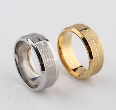 Men <b>Jewelry</b> Bible Ring Sliver <b>316L</b> Spanish <b>Religious</b> - AliExpress