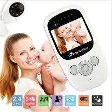 <b>Wireless 2.4GHz Digital Color</b> LCD Baby Monitor Camera Night ...