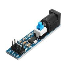 US$2.73 <b>3Pcs AMS1117 5V</b> Power Supply Module With DC Socket ...