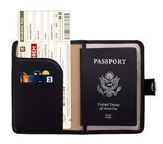 Zoppen Rfid Blocking Travel Passport Holder Cover ... - Amazon.com