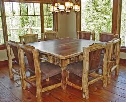 Square Dining Room Table With 8 Chairs How To Make Wood Dining Room Chairs Chairbevranicom
