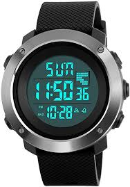 YEENIK <b>Men's</b> Digital Sports Hand <b>Watch</b>, Led <b>50M Waterproof</b> Wrist