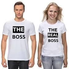 <b>Парные футболки</b> для двоих - <b>Printio</b>