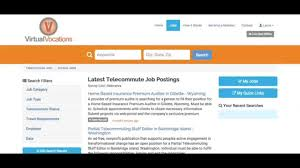 how to create manage telecommute job email alerts on virtual how to create manage telecommute job email alerts on virtual vocations