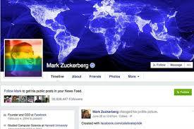 Resultado de imagem para arco iris facebook