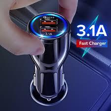 GETIHU 18 Вт 3.1A <b>автомобильное зарядное устройство</b> ...