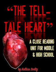 heart art heart and i love on pinterest close reading unit focusing on quotthe tell tale heartquot