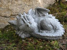 buddha statue concrete meditating figure cement garden  cement dragons garden dragons concrete statues fantasy zoom