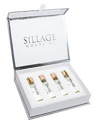<b>House of Sillage</b> - Rose Gold Holiday 4-Piece Travel Spray Refill ...