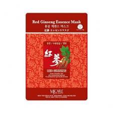 MIJIN <b>Маска тканевая красный женьшень</b> - Red Ginseng Essence ...