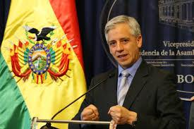 Resultado de imagen para IMAGEN DE El vicepresidente boliviano Álvaro García Linera