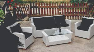 black wicker outdoor furniture cheap buy in uk black and white patio furniture