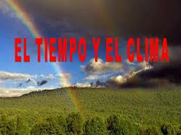 Resultado de imagen de EL CLIMA
