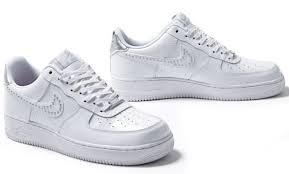 nike wmns air force 1 low stud pack white sneakernewscom air force crocodile white