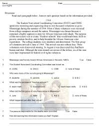 Multiple Choice Reading Comprehension Worksheets | Mreichert Kids ...Multiple Choice Reading Comprehension Worksheets #4