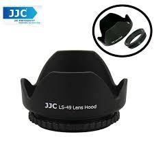 <b>JJC LS-49</b> (49mm) Universal flower Screw-in Lens Hood (Reverse ...