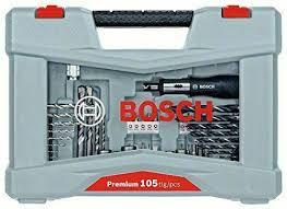 <b>Bosch</b> 2608P00236 Drill Screwdriver Bit <b>Set Premium</b> 105 Pcs for ...