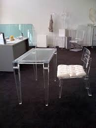 acrylic home office desks for a clearly fabulous work space acrylic bedroom furniture