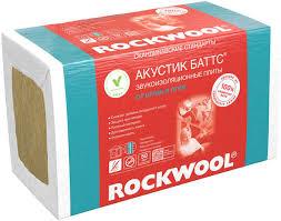 Роквул <b>Акустик Баттс</b> 50 - Звукоизоляция - Роквул / <b>Rockwool</b> ...