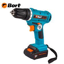 <b>Дрель</b>-<b>шуруповерт</b> аккумуляторная <b>Bort BAB</b>-<b>12Li</b> (Li-Ion ...