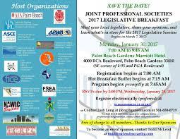 joint professional societies 2017 legislative breakfast palm joint professional societies 2017 legislative breakfast