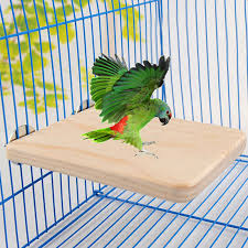 <b>1pc Pet Bird Parrot</b> Chew Toy Wood Hanging Swing Cages Fr ...