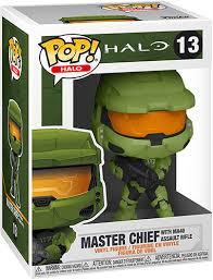 Купить <b>Фигурка Funko POP</b>! <b>Halo</b> Infinite: Master Chief (51102) по ...
