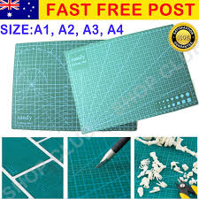 A1 <b>A2 A3 A4 PVC</b> Self Healing <b>Cutting Mat</b> Craft Quilting Grid Lines ...