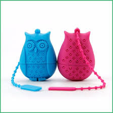 China Factory Customized <b>High Quality Owl Shape</b> Silicone Tea ...