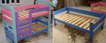 set of bunks and an individual bunk bed children bunk beds safety