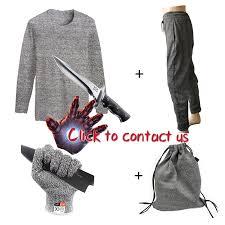 <b>Anti cut</b> Resistant T Shirt Soft Self Defense Light weight 2019 <b>Level</b> ...
