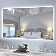 backlit mirror bathroom - Amazon.com