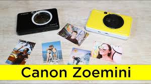 Обзор и сравнение фото камер с моментальной печатью <b>Canon</b> ...