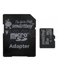 Купить <b>Карта памяти Smart</b> Buy Micro SD 32 Gb c адаптером ...