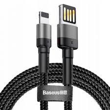 399 ₽ Кабель <b>Baseus Cafule USB</b>/Lightning 1m Black (CALKLF-GG1)