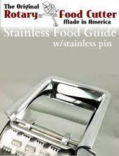 <b>Stainless Steel FINGER GUARD</b> w/PIN for Saladmaster, Health Craft ...