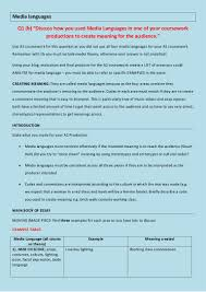 b media languages essay plan and theory media languages essay plan and theory